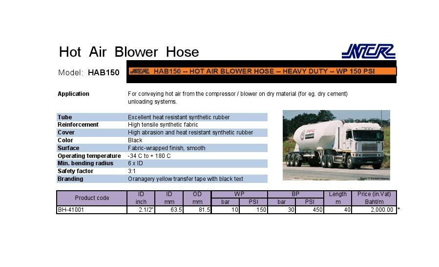 สายลมร้อน(Hot Air Blower Hose)
